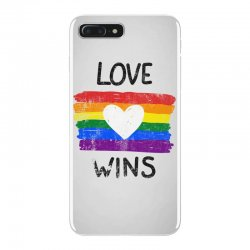 love wins for light iPhone 7 Plus Case | Artistshot