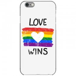 love wins for light iPhone 6/6s Case | Artistshot
