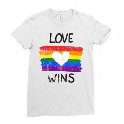 love wins for light Ladies Fitted T-Shirt | Artistshot