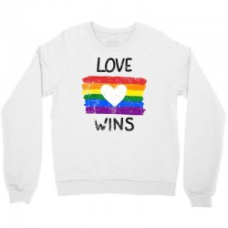 love wins for light Crewneck Sweatshirt | Artistshot