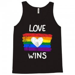 love wins for dark Tank Top | Artistshot