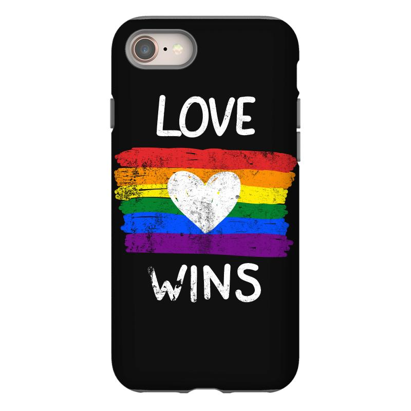Love Wins For Dark Iphone 8 Case | Artistshot