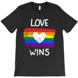 love wins for dark T-Shirt | Artistshot