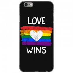 love wins for dark iPhone 6/6s Case | Artistshot