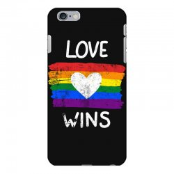 love wins for dark iPhone 6 Plus/6s Plus Case | Artistshot