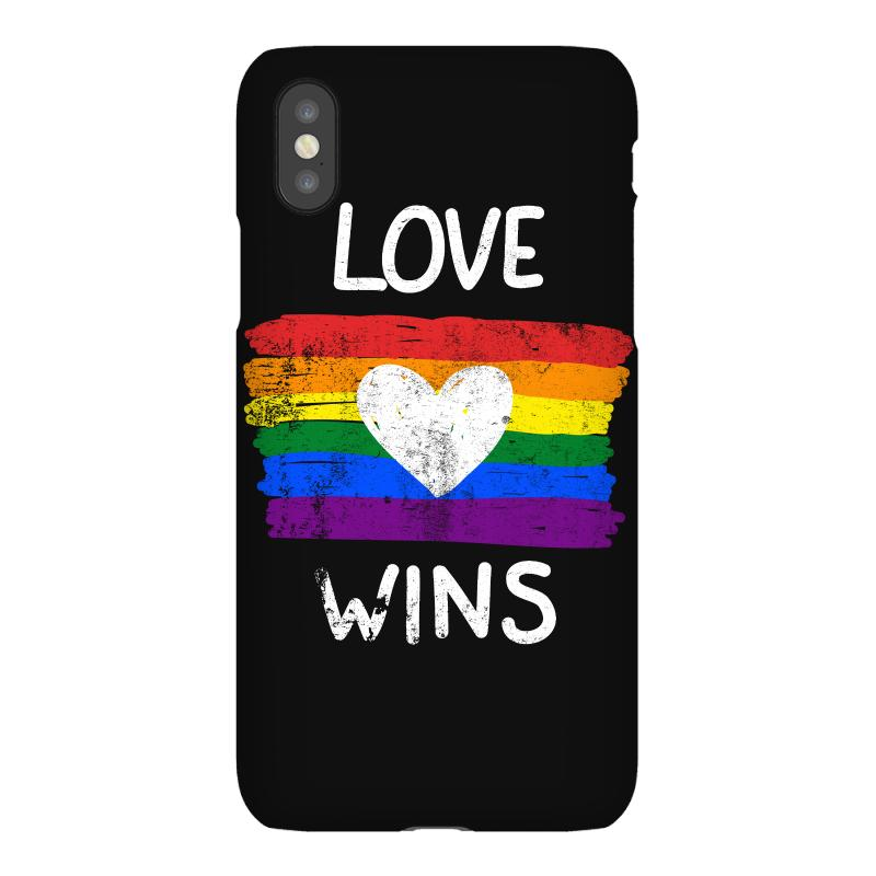Love Wins For Dark Iphonex Case | Artistshot