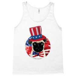 fourth of july dog Tank Top | Artistshot
