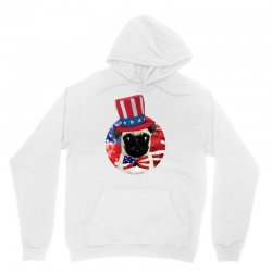 fourth of july dog Unisex Hoodie | Artistshot