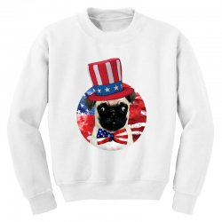 fourth of july dog Youth Sweatshirt | Artistshot