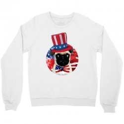 fourth of july dog Crewneck Sweatshirt | Artistshot