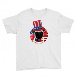 fourth of july dog Youth Tee | Artistshot