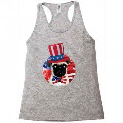 fourth of july dog Racerback Tank | Artistshot