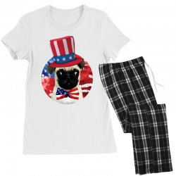 fourth of july dog Women's Pajamas Set | Artistshot
