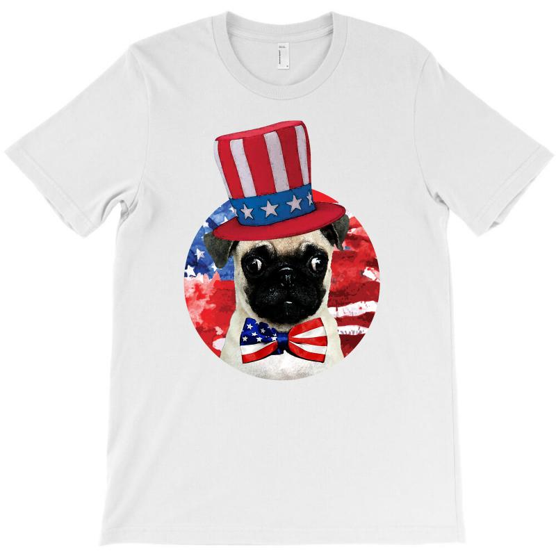 Fourth Of July Dog T-shirt | Artistshot