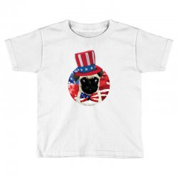 fourth of july dog Toddler T-shirt | Artistshot