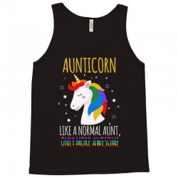 aunticorn like a normal aunt only more awesome Tank Top | Artistshot