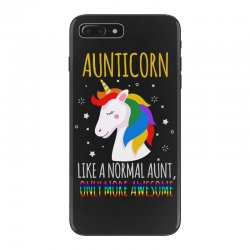 aunticorn like a normal aunt only more awesome iPhone 7 Plus Case | Artistshot