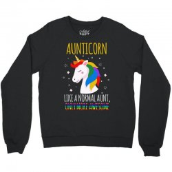 aunticorn like a normal aunt only more awesome Crewneck Sweatshirt | Artistshot