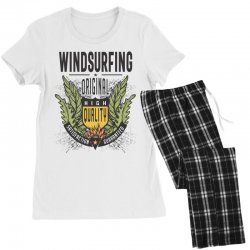 Windsurfing Original Women's Pajamas Set | Artistshot