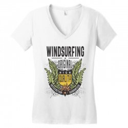 Windsurfing Original Women's V-Neck T-Shirt | Artistshot