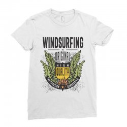 Windsurfing Original Ladies Fitted T-Shirt | Artistshot