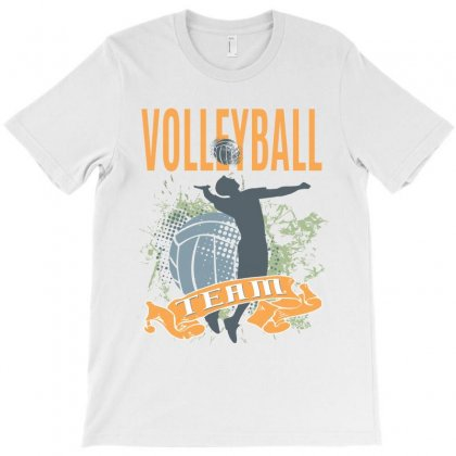 Volleyball Team T-shirt Designed By Cidolopez