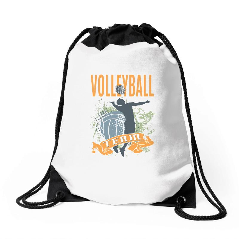 Volleyball Team Drawstring Bags | Artistshot