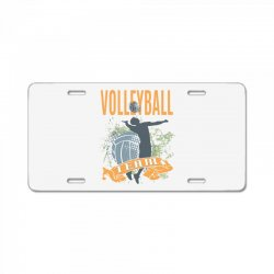 Volleyball Team License Plate | Artistshot