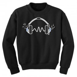 feels the music Youth Sweatshirt | Artistshot