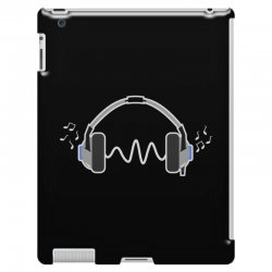 feels the music iPad 3 and 4 Case | Artistshot