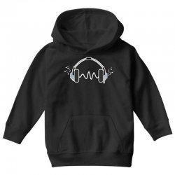 feels the music Youth Hoodie | Artistshot