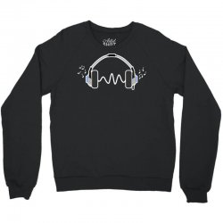 feels the music Crewneck Sweatshirt | Artistshot