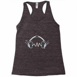 feels the music Racerback Tank | Artistshot