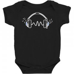 feels the music Baby Bodysuit | Artistshot