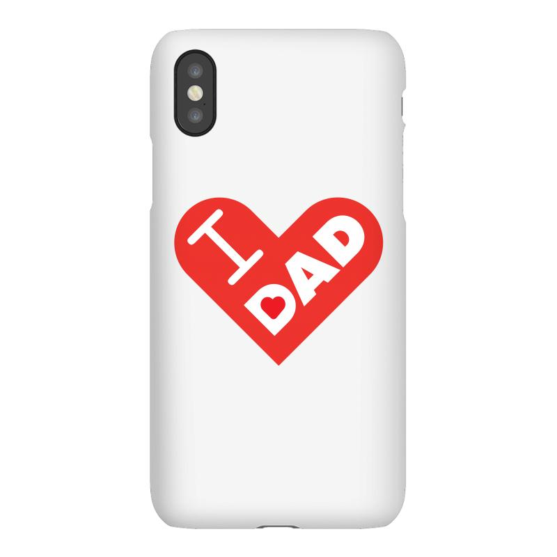 I Love My Dad Iphonex Case | Artistshot