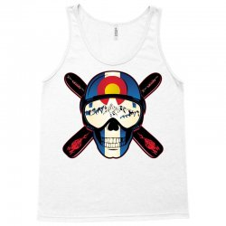 Skiing skull colorado Tank Top | Artistshot