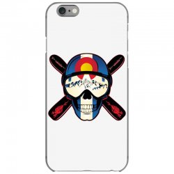Skiing skull colorado iPhone 6/6s Case | Artistshot