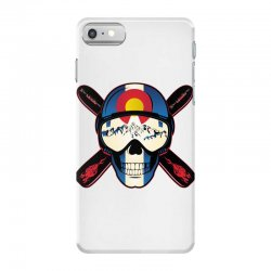 Skiing skull colorado iPhone 7 Case | Artistshot