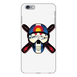 Skiing skull colorado iPhone 6 Plus/6s Plus Case | Artistshot