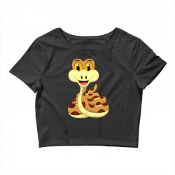 Smiling Snake Crop Top | Artistshot