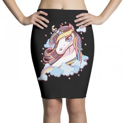 Sparkle unicorn Pencil Skirts | Artistshot