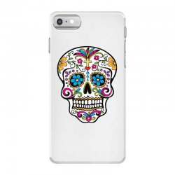 Skull day of the dead iPhone 7 Case | Artistshot