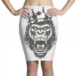 Long Live the King / Fathers day Pencil Skirts | Artistshot