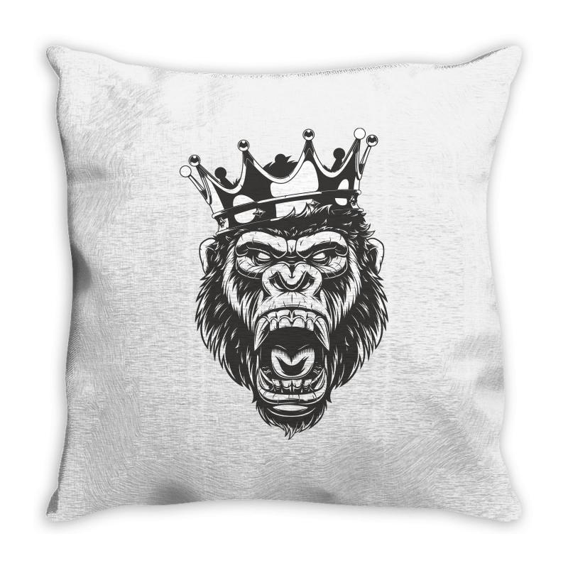 Long Live The King / Fathers Day Throw Pillow | Artistshot