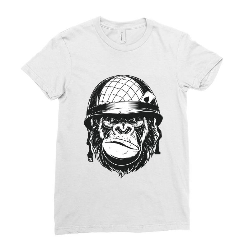 Full Metal Dad  / Fathers Day Ladies Fitted T-shirt | Artistshot
