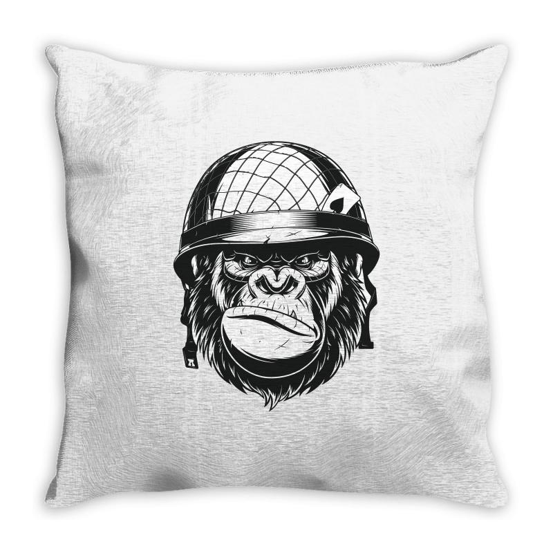 Full Metal Dad  / Fathers Day Throw Pillow | Artistshot
