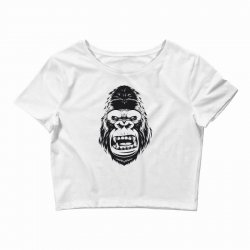 Gorilla tape Crop Top | Artistshot