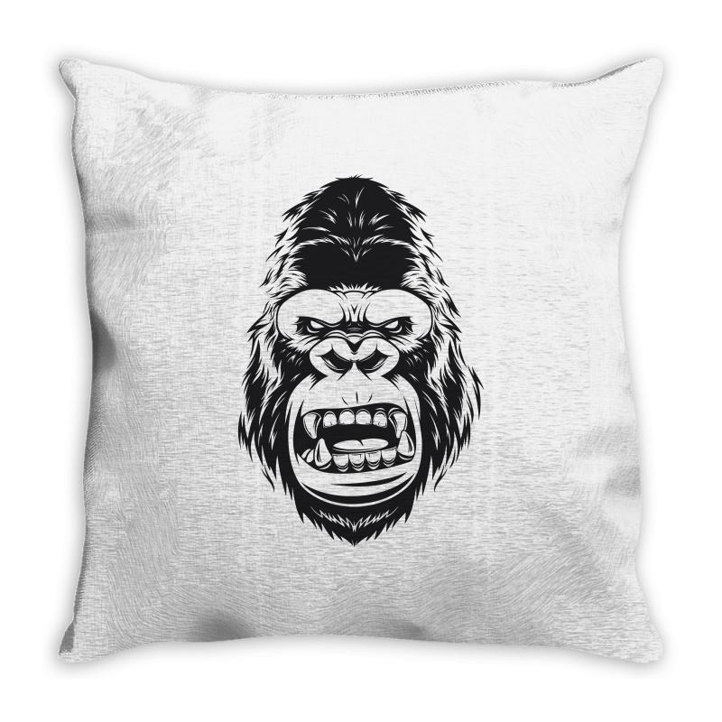 Gorilla Tape Throw Pillow | Artistshot