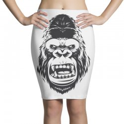 Gorilla tape Pencil Skirts | Artistshot
