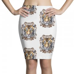 Tiger Pencil Skirts | Artistshot
